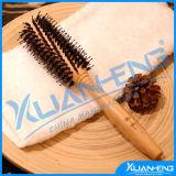 Boar Hair Round Hair Vented Comb