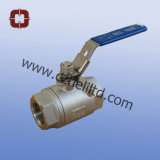 2PC Heavy 2000wog Full Port Ball Valve