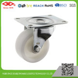 50mm White Plastic Swivel Plate Caster (P108-30B050X20)