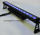 Outdoor IP65 DMX512 4in1 RGBW 14PCS 10W LED Pixel Wall Washer Light