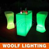Nightclub Modern Illuminated Lighted LED Bar Stool