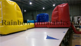 New Design 8X8m Inflatable Hungry Hippos Sports Game Bungee Run
