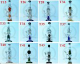 China Fast and safety Delivery Tobacco Recylcer Tall Glass Water Smoking Pipe Manufacture