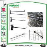 Powder Coated Single Wire Pegboard Metal Display Hook
