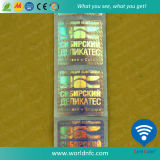 RFID Hf/NFC Printable Tag Label with Anti-Counterfeiting Function
