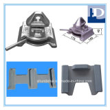 Casting Steel Container Fittings Dovetail Bottom Twistlock with Base Plate