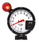 "5"" 127mm Tachometer 4 in 1 for 7 LED Color Tachometer (8210BW)"