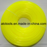 Yellow 1.1lbs 2.4mm Round Co-Polymer Trimmer Line for Grass Trimmer