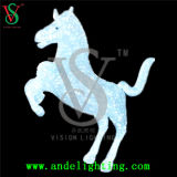Animated christmas Animal Light Lighted Horse Carriage