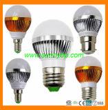 2015 Hot High Quality E27 3W LED Light Bulb