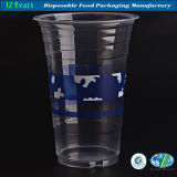 Customized Logo Pinted on Disposable of Plastic Cup