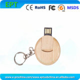 Custom Logo Wooden Mini Memory Card USB Memory Stick (EW057)