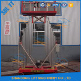 The Hot Sale Movable Aluminum Lift Ladder