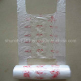 White Shopping Bag on Roll