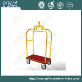 Stainless Steel with Titanium Coated Airport Luggage Trolley