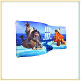 Aluminum Tubed Easy Display Stand with 20ft S Wave Line