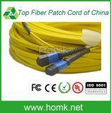 MTP Sm Optical Fiber Patch Cord Flat