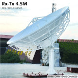 4.5m Rx-Tx Earth Station Antenna (Pole Stand, Manual)