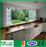 Rochetti System Profile Aluminum Glass Bi-Fold Windows with Soncap