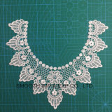 Fashion Cotton Fabric Textile Flower Embroidery Lace Collar Garment Accessories