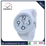 Wholesale Mirror Rubber Jelly Wristband Quality Sport Watch (DC-1312)