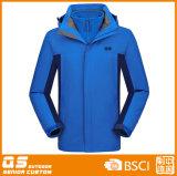 Men′s Sport 3 in 1 Outdoor Fashion Waterproof Jacket