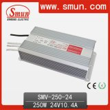 250W 24V Single Output LED Driver Waterproof Power Supply IP67