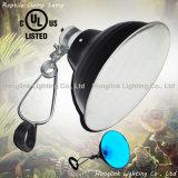 "150W E27 8.5"" UL Terrarium Reptile Lamp with Clamp Glow Light"