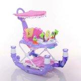Rocking Baby Walker with Slide Wheels