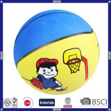 Colorful Funny Kids Rubber Basketball