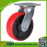 Industrial Swivel Caster with Polyurethane Wheels