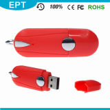 Ept Rubberized Plastic USB Flash Drive with Customized Logo (ET576)