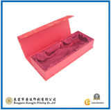 Red Color Rigid Paper Folding Packaging Box (GJ-Box053)