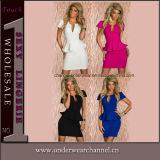 4-Colors New Fashion Wholesale Sexy Career Cocktail Dress (TBLSN118)