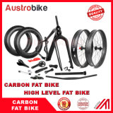 Austrobike Full Carbon Frame Set with Carbon Fork 150 Mm with Thru Axle