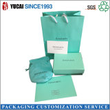 2017 Hot Sale Green Paper Bag and Box Set