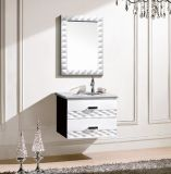 Modern Solid Wood Bath Cabinet