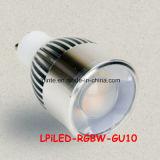 MR16 GU10 E27 RGBW LED Spotlight RGB