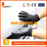 Ddsafety 2017 Black Nitrile Coating 13 Gauge Black Nylon Shell Working Glove