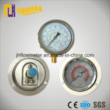 Back and Bottom Connection Refrigeration Pressure Meter (JH-YL-F)