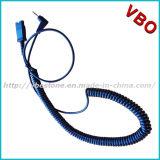 Qd 2.5mm Bottom Cord Call Center Telephone Headset
