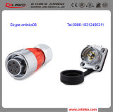 20A Underwater Electrical 5pin Socket Connector for Outdoor