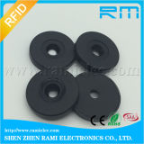 Hard ABS Coin 125kHz Tk4100 Chip RFID Tag for ID Tracking