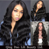 Human Hair Wigs Fashion Deep Wave Full Lace Wig Virgin Hair Glueless Lace Front Wig