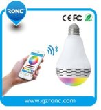 Colorful Bluetooth Speaker LED Bulb with Mobile APP