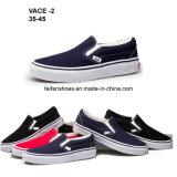 Hotsale Men Rubber Canvas Shoes Injection Casual Shoes (VACE02)