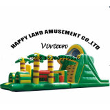 Jungle Durable Inflatable Obstacle Course Challenge