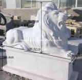 White Granite Marble Sculpture & Carving for Garden Decoration
