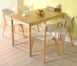 Solid Wooden Dining Table Living Room Furniture (M-X2901)