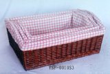 Handmade Eco Wicker Storage Basket (BC-ST1009)